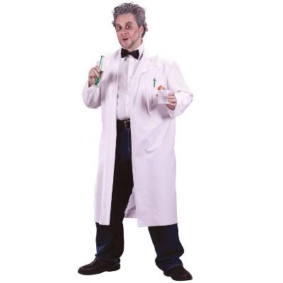 Fun World Mad Scientist Lab Coat Adult Costume