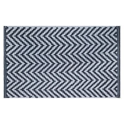 Chevron Bath Mat Railroad/Gray - Nate Berkus™