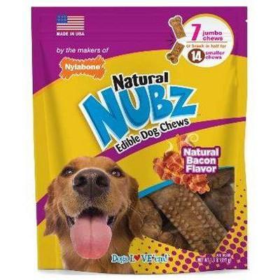 Nylabone Nubz Bacon Dental Dog Treats - 21.06oz