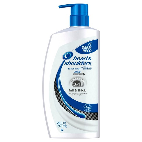 Head & Shoulders 2-in-1 Full & Thick Dandruff Shampoo + Conditioner - 32.1 fl oz - image 1 of 3