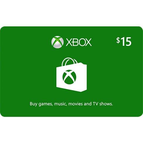 Xbox Gift Card Digital Target