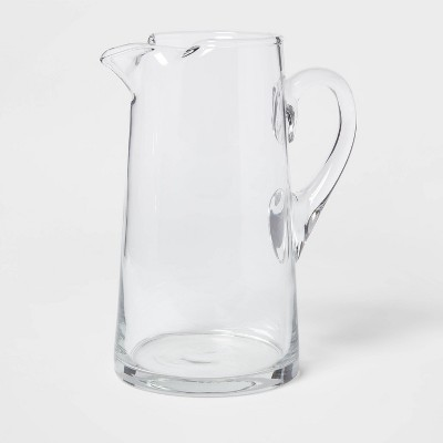 90oz Glass Tall Pitcher with Handle - Threshold™