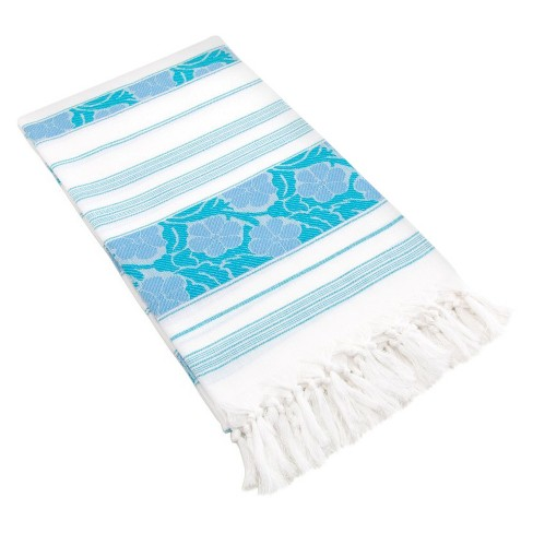 Flowers For All Beach Towels - Linum Home Textiles® - image 1 of 3