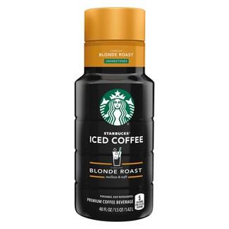 Starbucks Iced Coffee Lightly Sweet - 48oz