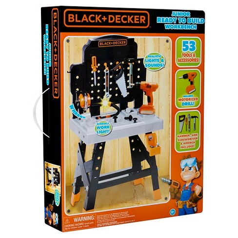 Stupendous Electronic Tool Drill Kids Junior Power Play Tools New Black Ibusinesslaw Wood Chair Design Ideas Ibusinesslaworg