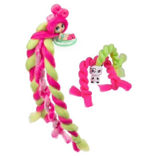 Candylocks Doll + Pet - Kiwi Kimmi & Hank-ster image number null