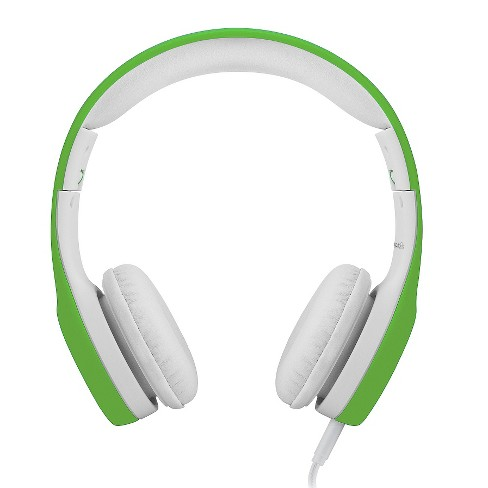 LilGadgets Connect+ Premium Volume Limited Wired Headphones with SharePort for Kids - Green - image 1 of 4