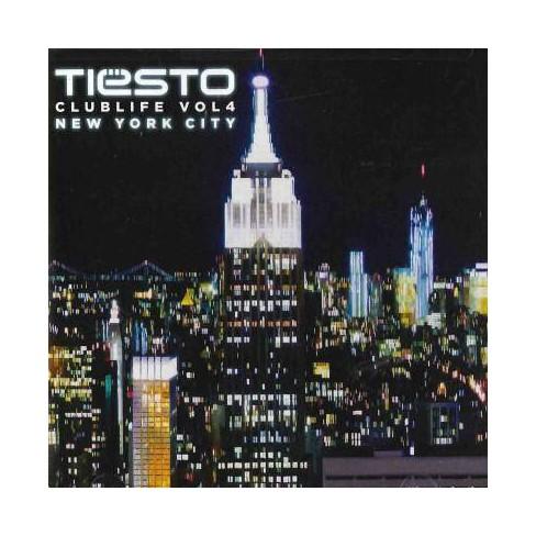 Tiesto - Club Life, Vol. 4: New York City (CD) - image 1 of 1
