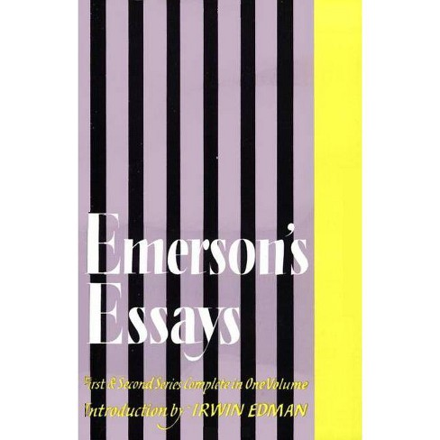 Emerson's Essays - by  Ralph Waldo Emerson (Paperback) - image 1 of 1