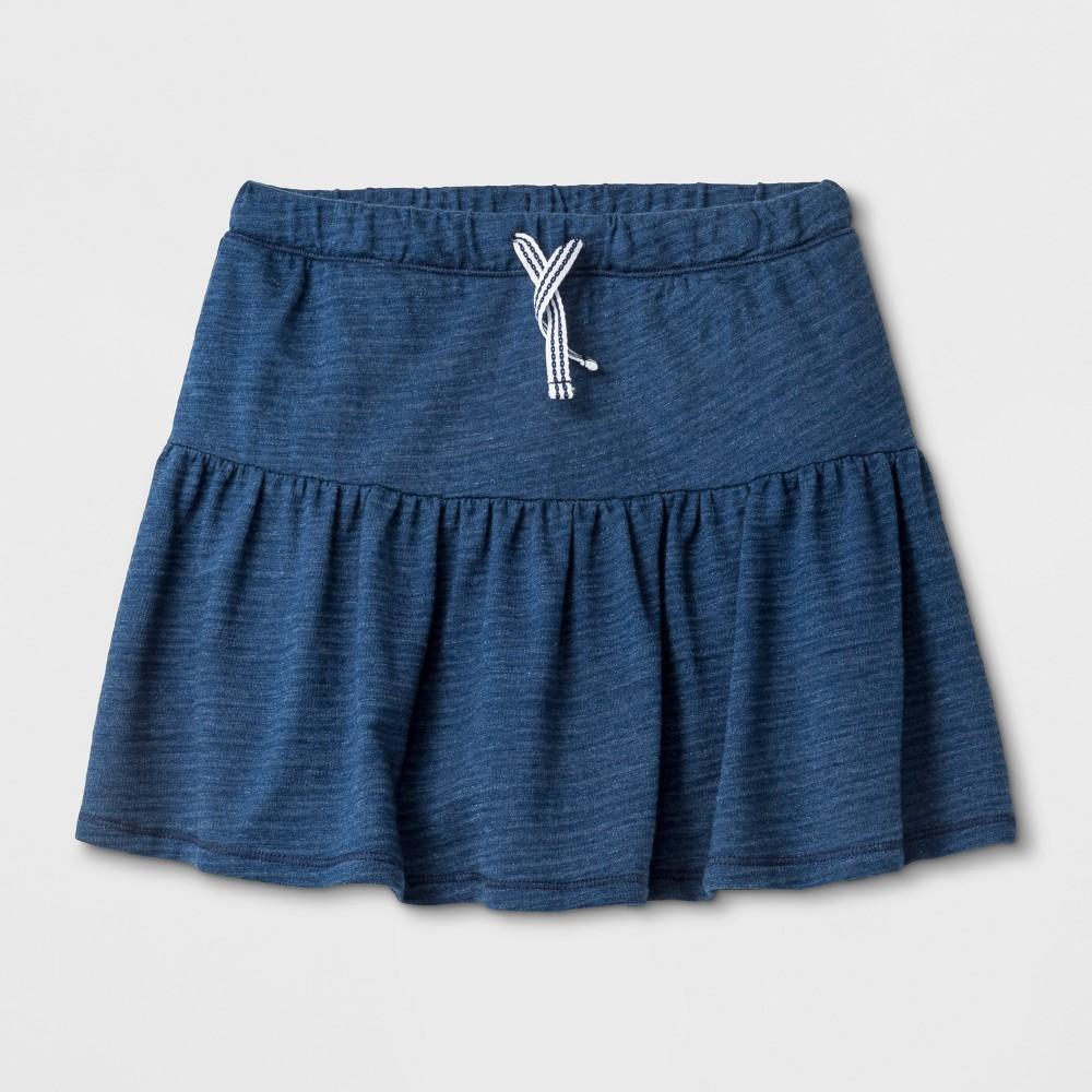 Girls' Knit Scooter - Cat & Jack Navy XS, Blue