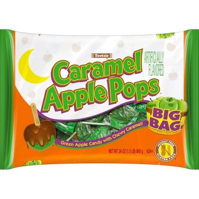 Caramel Apple Pops Halloween Bag - 24oz