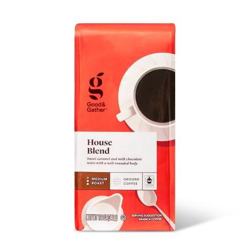 House Blend Medium Roast Ground Coffee - 12oz - Good & Gather™ - image 1 of 3