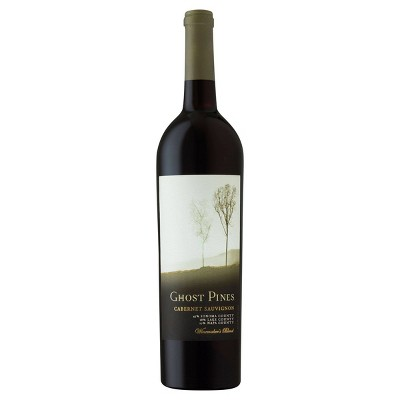 Ghost Pines Cabernet Sauvignon Red Wine - 750ml Bottle