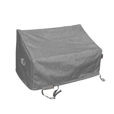 Shield Platinum 3-Layer Water Resistant Outdoor Sofa Covers, Grey Melange
