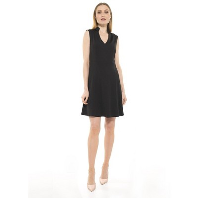 Alexia Admor Adeyln High Neck Fit And Flare Dress