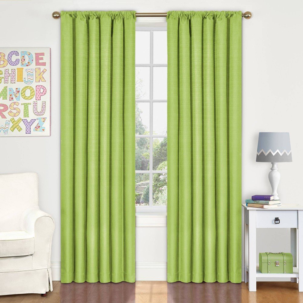 "Image of ""Eclipse My Scene Kendall Blackout Window Panel - Lime (42"""" X 63""""), Green"""