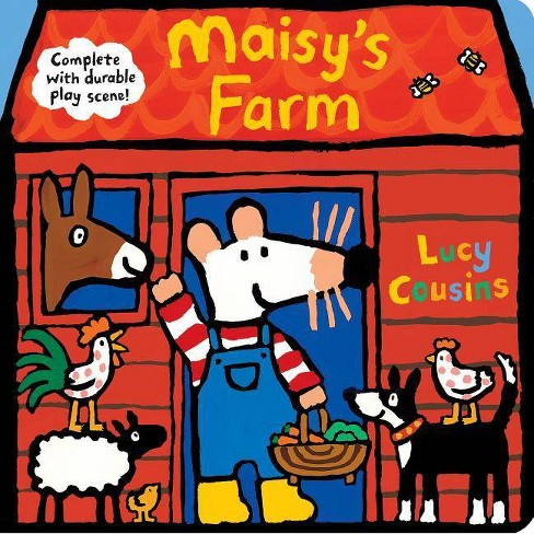 Maisy's Farm: Complete with Durable Play Scene - by  Lucy Cousins (Board_book) - image 1 of 1