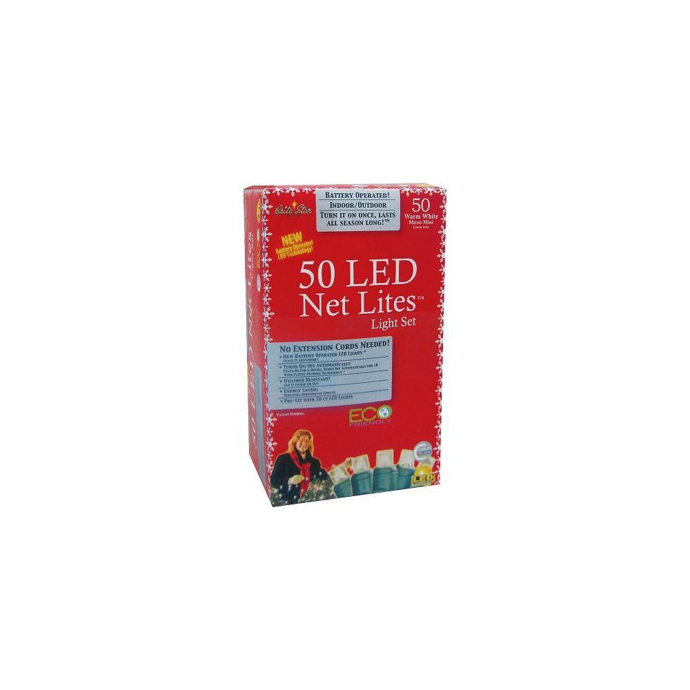 Image of 50ct Led Net Lights - Warm White