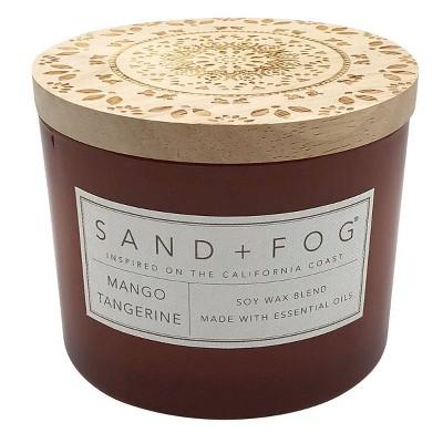 12oz Mango Tangerine Scented Candle - Sand + Fog