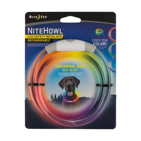 Nite Ize Howl Rechargeable Disco Dog Collar - image 1 of 4