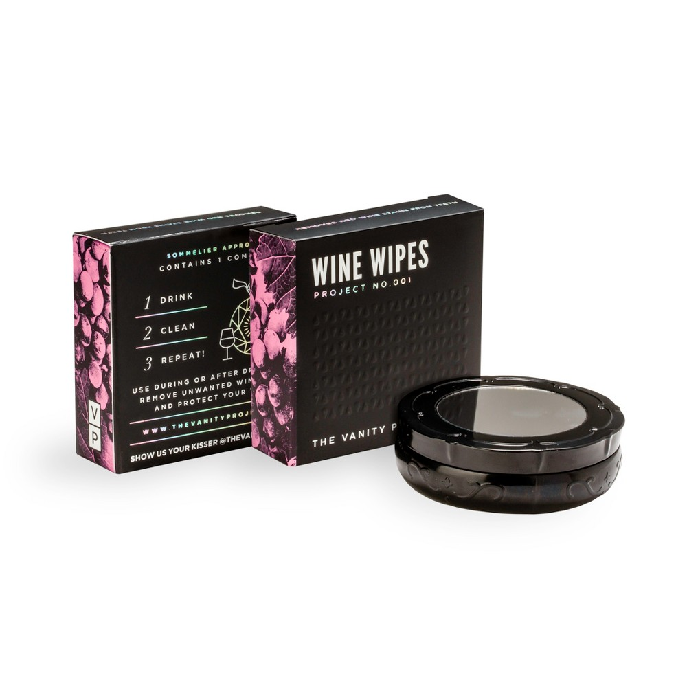 Image of The Vanity Project Wine Wipes - 15ct