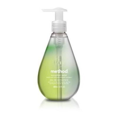 Method Gel Hand Soap Cucumber Water - 12 fl oz