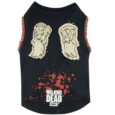 The Walking Dead Daryl Wings Dog Shirt