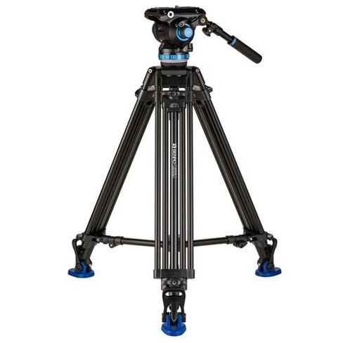 Benro A673TM Dual-Stage Aluminum Video Tripod with S8 PRO Video Head, Payload 17.6 lbs - image 1 of 4