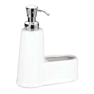 InterDesign York Soap & Sponge Caddy White