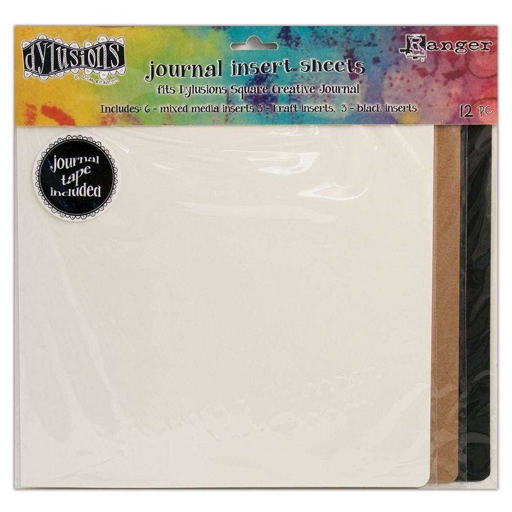 "Image of ""Dylusions Dyan Reaveley's Journal Inserts Small-Asst 8""""x5"""""""