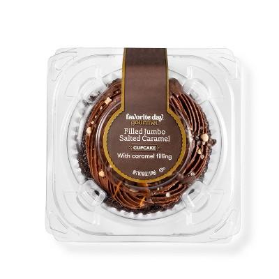 Salted Caramel Filled Jumbo Cupcake - 6oz - Favorite Day™