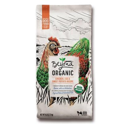 Purina Beyond Organic Chicken, Egg & Sweet Potato Dry Dog Food