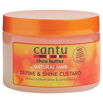 Hair Styling: Cantu Define & Shine Custard