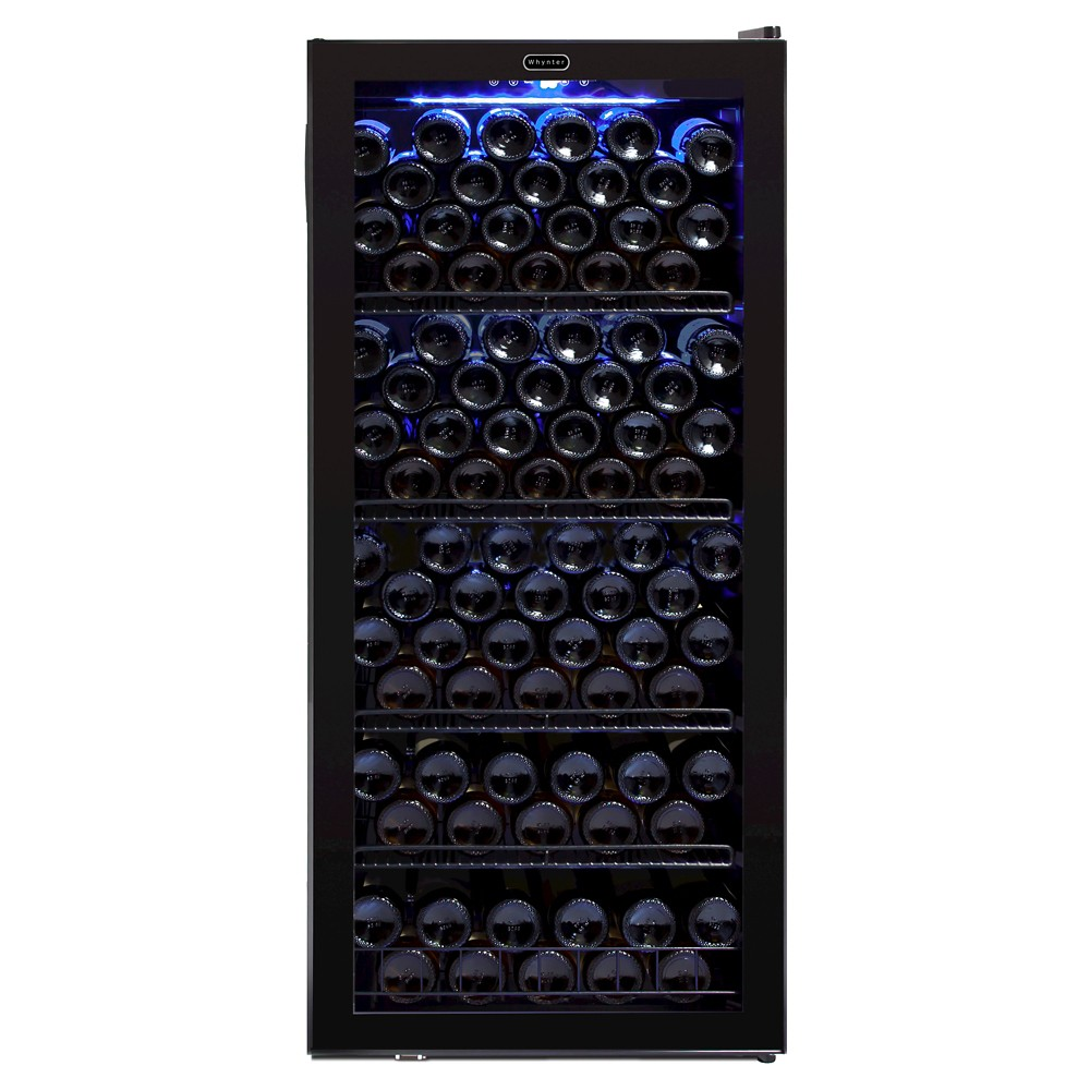Whynter 124 Bottle Wine Cabinet Refrigerator – Black Fwc-1201BB 50254142