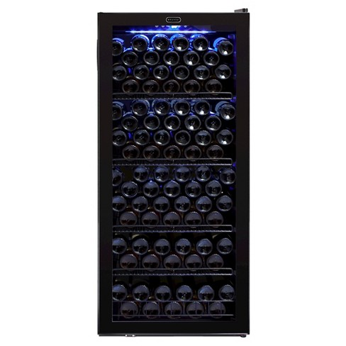 Whynter 124 Bottle Wine Cabinet Refrigerator - Black FWC-1201BB - image 1 of 6