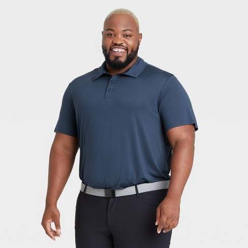 Men's Big & Tall Jersey Golf Polo Shirt - All in Motion™ - image 1 of 2