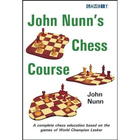 John Nunn's Chess Course - (Paperback) - image 1 of 1