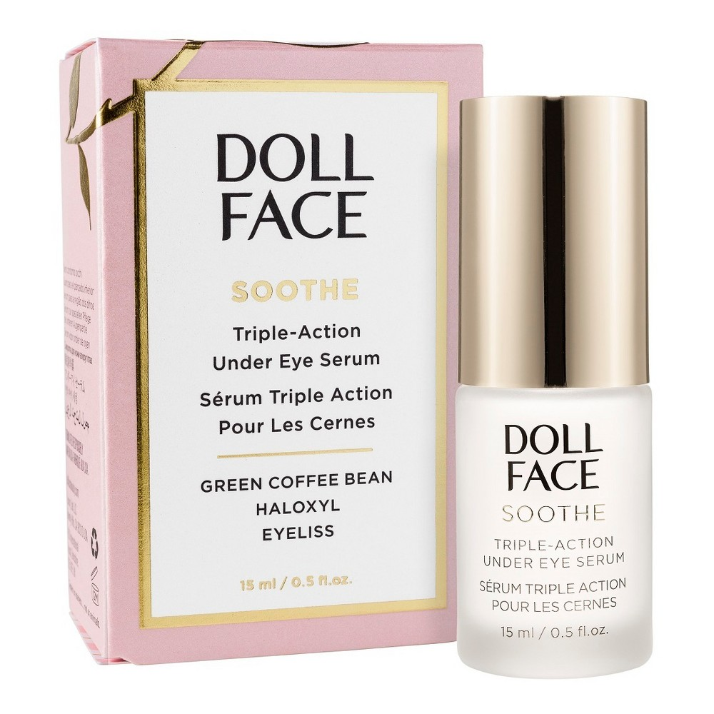 Image of Doll Face Soothe Triple-Action Undereye Serum - .5 fl oz