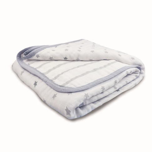 Aden® by Aden + Anais® Muslin Blanket - Dove - image 1 of 2