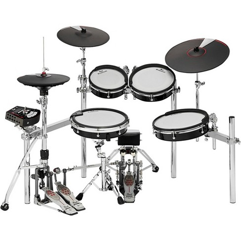 Pearl e/MERGE e/TRADITIONAL Electronic Drum Set Powered by KORG Jet Black - image 1 of 4