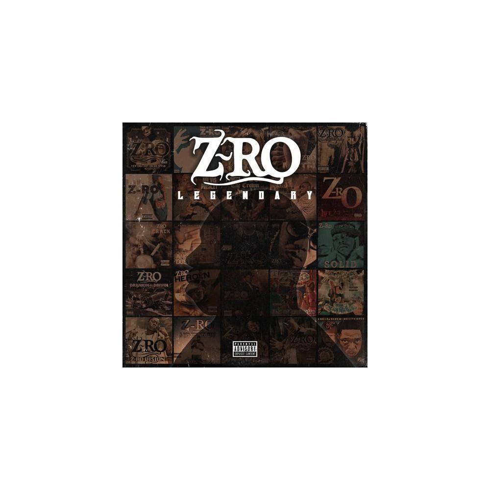 Z-Ro - Legendary (CD), Pop Music