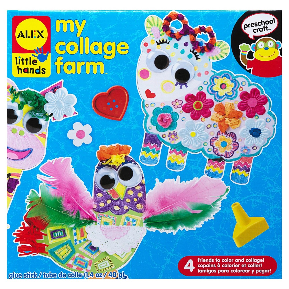 Image of ALEX Toys Little Hands My Collage Farm