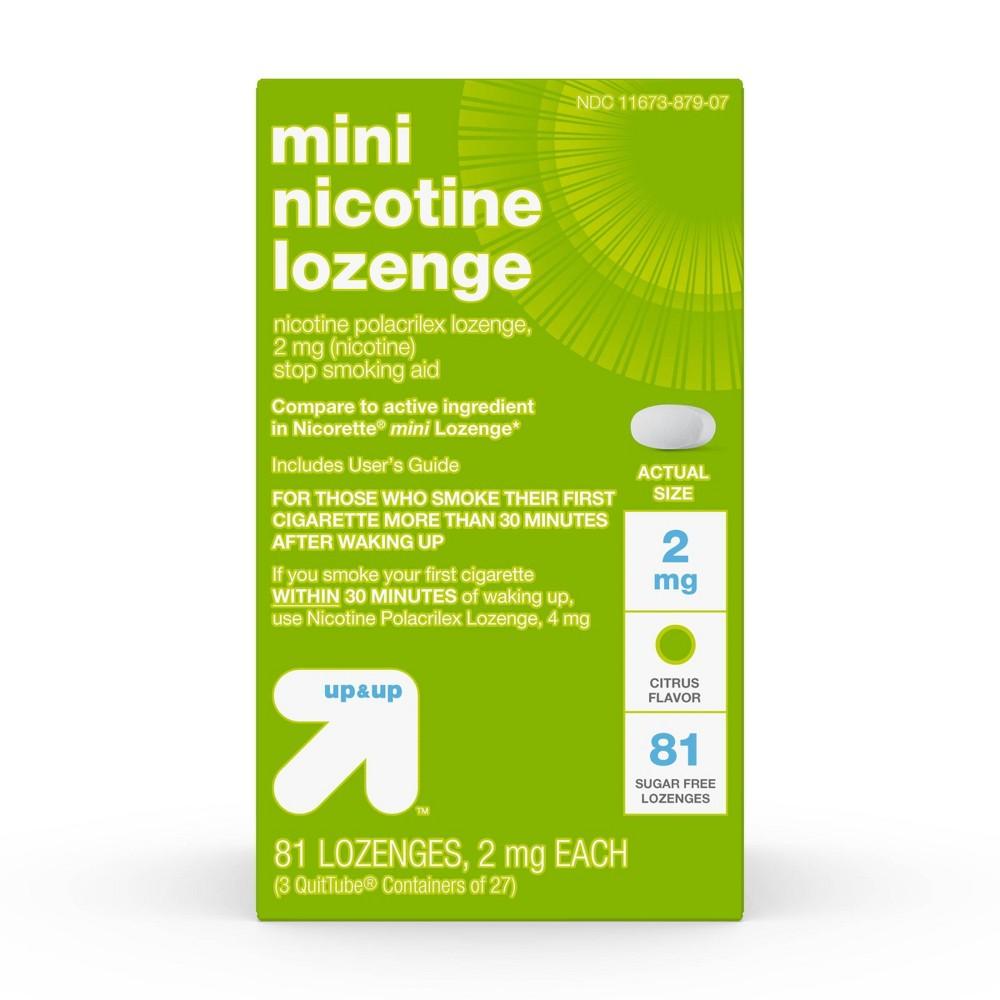 Nicotine 2mg Mini Lozenge Citrus 81ct Up 38 Up 8482