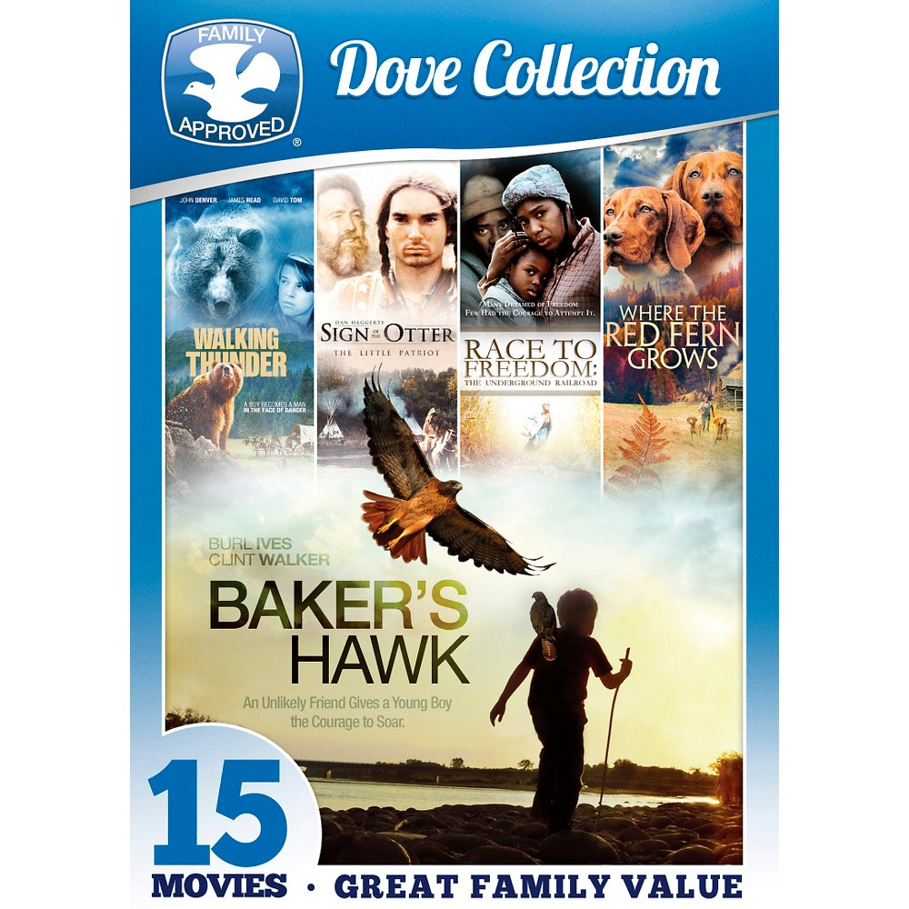 15 movie dove family collection (Dvd)