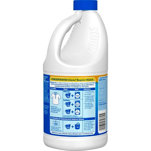 Clorox Regular Liquid Bleach 64oz Target