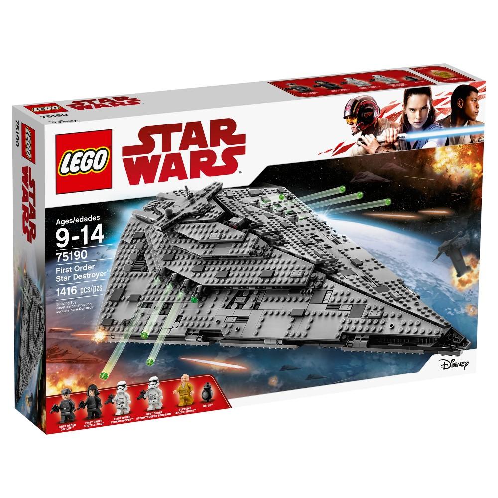Lego Star Wars The Last Jedi First Order Star Destroyer 75190