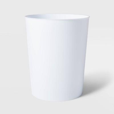 Solid Bathroom Wastebasket White - Room Essentials™