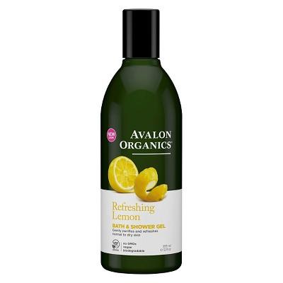Body Washes & Gels: Avalon Organics Bath & Shower Gel