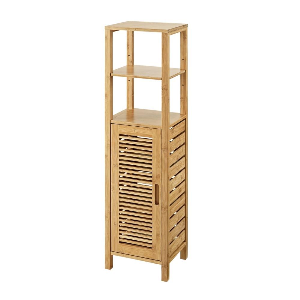 Bracken Mid Cabinet Natural Linon