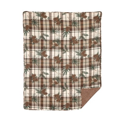 C&F Home Lookout Lodge Quilted Cotton Quilted Throw